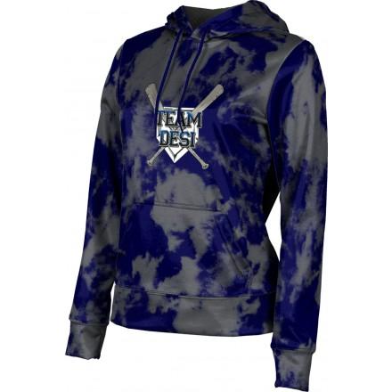 ProSphere Girls' DESI STRONG Grunge Hoodie Sweatshirt