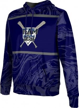 ProSphere Men's DESI STRONG Ripple Hoodie Sweatshirt
