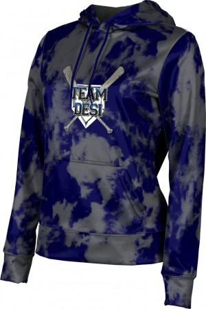 ProSphere Women's DESI STRONG Grunge Hoodie Sweatshirt