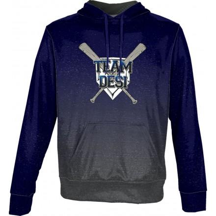 ProSphere Men's DESI STRONG Ombre Hoodie Sweatshirt