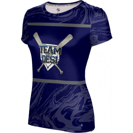 ProSphere Girls' DESI STRONG Ripple Shirt