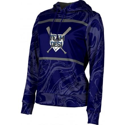 ProSphere Women's DESI STRONG Ripple Hoodie Sweatshirt